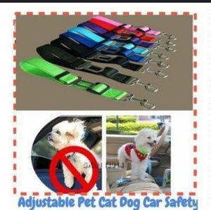 Dog Car Seat safety belt!